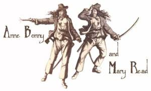 Photo of Mary Read and Anne Bonny