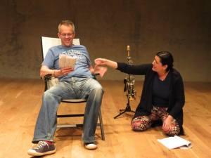Mark Jardine as Declan, and Beki Mahon as Deechy.